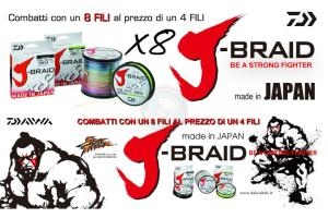 J-BRAID X8 DG 150mt