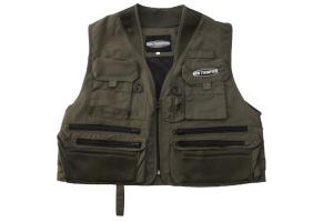 ONTARIO FLY VEST D.OLIVE