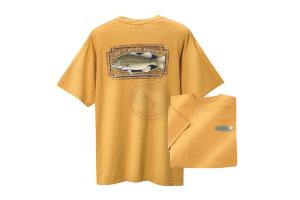 ST CROIX T-SHIRT BASS YELLOW/BASS