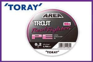 TROUT REAL FIGHTER PE 100mt